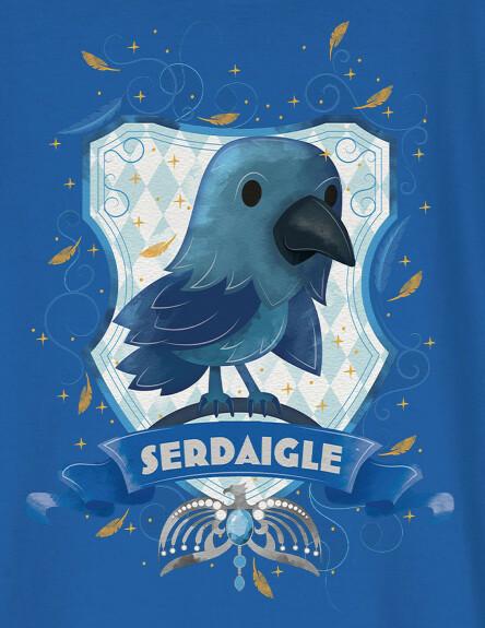 T-shirt Enfant Chibi Serdaigle
