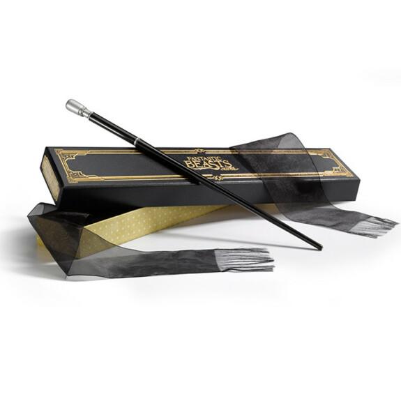 Baguette magique de Percival Graves avec boîte Ollivander