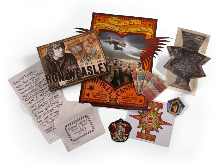 Boîte d'artefacts Ron Weasley