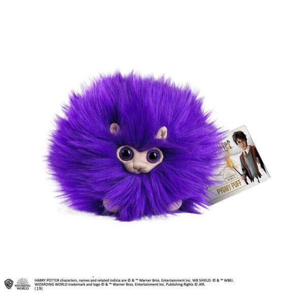 Peluche Boursouflet violet petit format