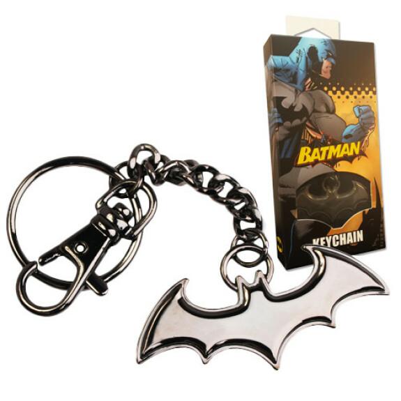 Porte clés logo Batman noir