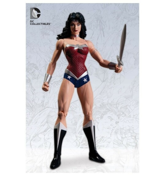 Wonder Woman figurine film Justice League