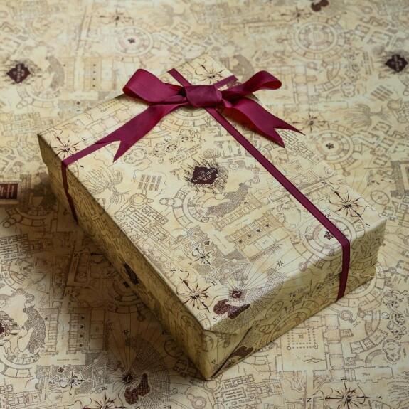 Papier cadeau La carte du Maraudeur