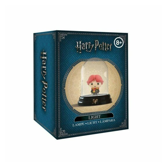 Mini lampe sous cloche figurine Ron Weasley