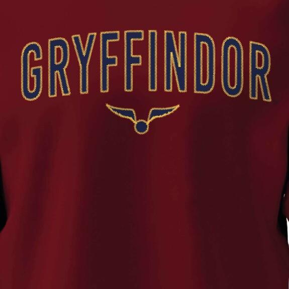 Sweatshirt Gryffondor Vif d'Or bordeaux