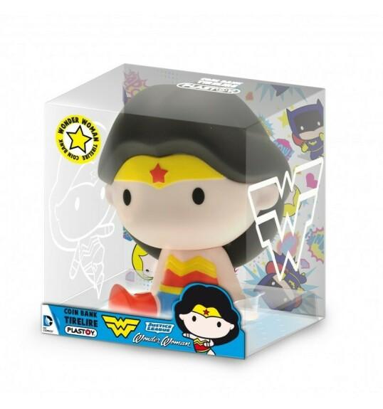 Tirelire Wonder Woman Chibi Plastoy 15 cm