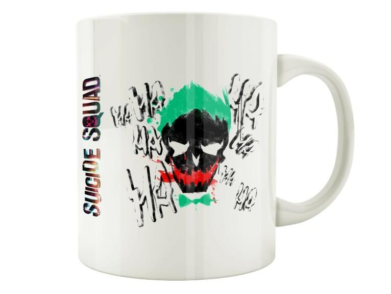Mug Joker logo tête de mort Joker Suicide Squad