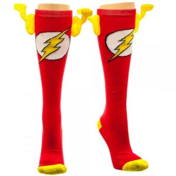 Chaussettes hautes Flash avec ailettes