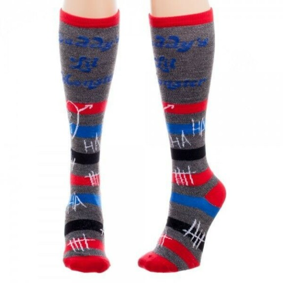 Chaussettes hautes Harley Quinn Daddy's Lil Monster Suicide Squad