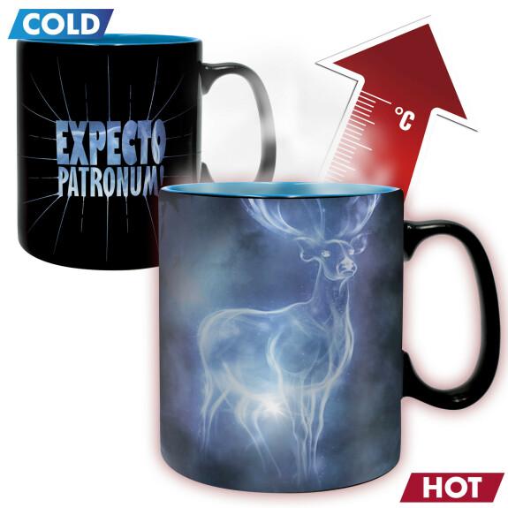 Mug Expecto Patronum thermoréactif grande contenance