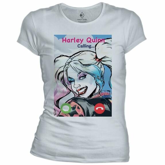 T-shirt femme Harley Quinn Calling