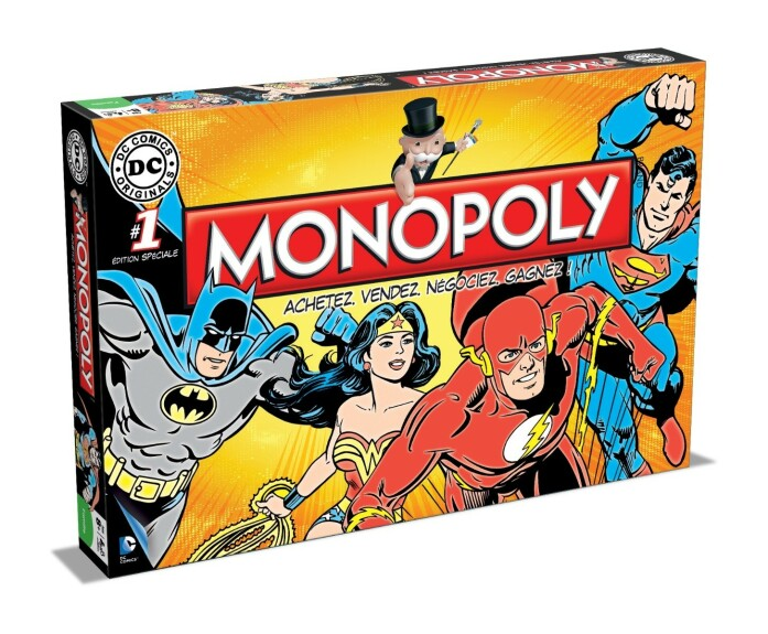 Monopoly DC Comics version française