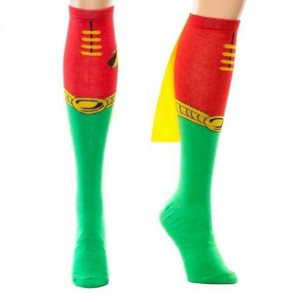 Chaussettes hautes Robin avec cape