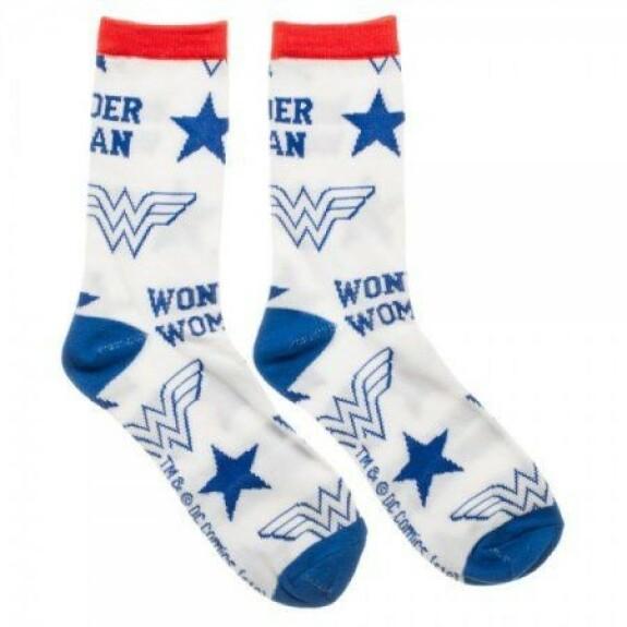 Chaussettes Wonder Woman étoiles