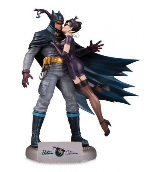 Batman et Catwoman statue DC Collectibles Bombshells Deluxe 28 cm