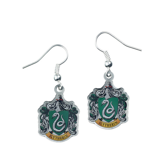 Boucles d'oreilles Armoiries de Serpentard