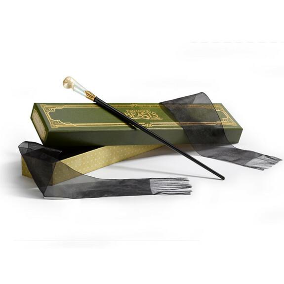 Baguette magique de Queenie Goldstein avec boîte Ollivander