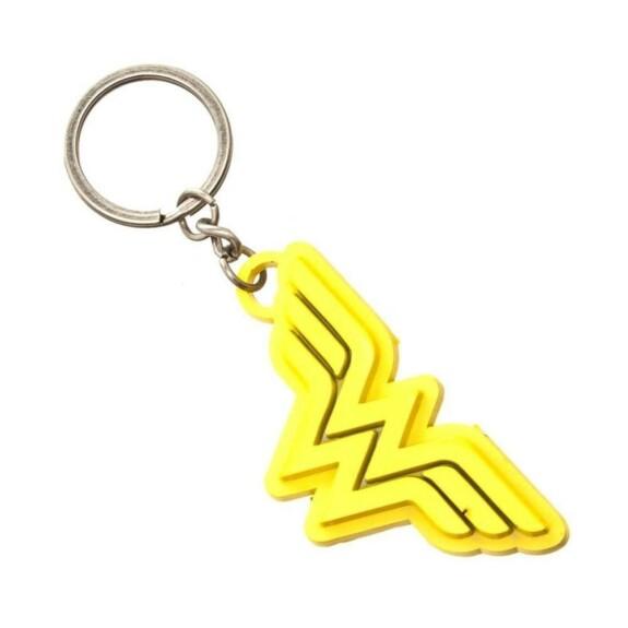 Porte-clés Wonder Woman logo jaune