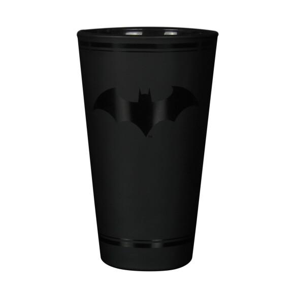 Verre noir mat logo Batman