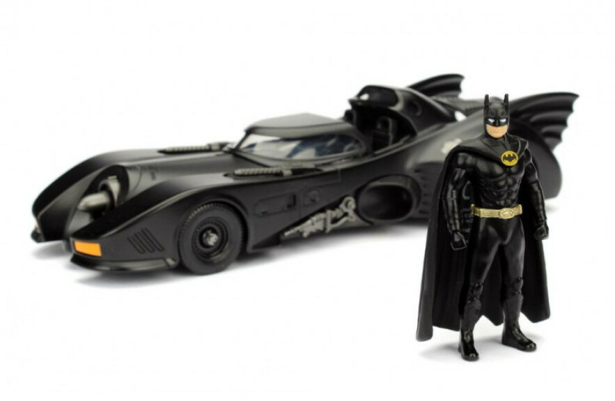 Batman et Batmobile figurines film Batman Returns 1989 1/24 Jada Toys