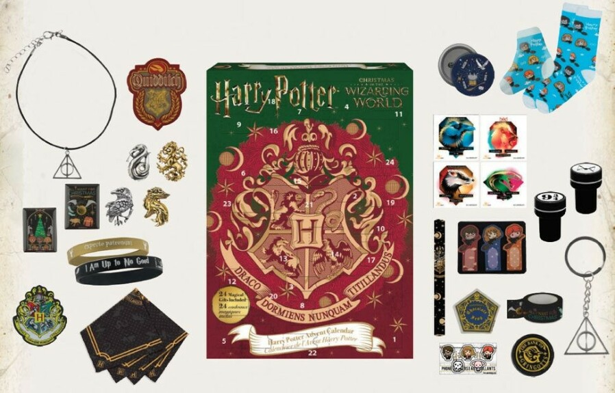 Calendrier de l'avent 2019 Harry Potter Christmas in the Wizarding World