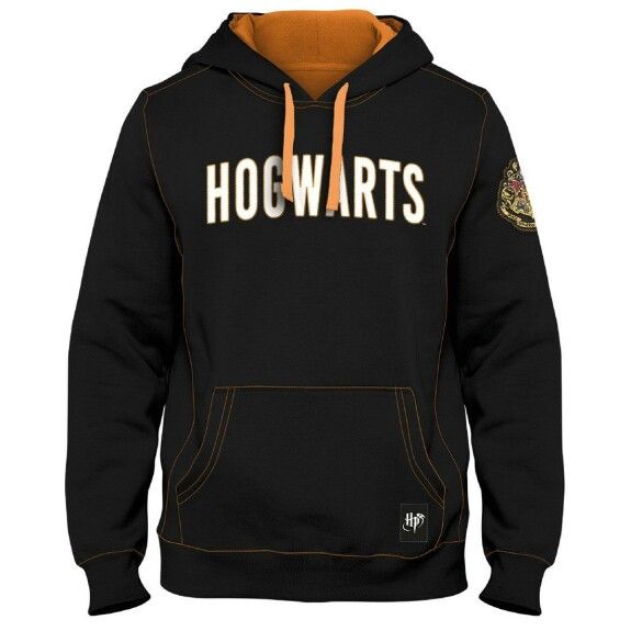Sweatshirt Poudlard noir