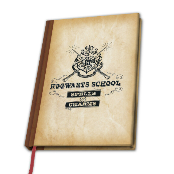 Cahier A5 Hogwarts School Spells and Charms