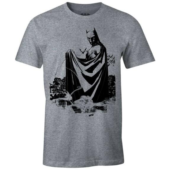 T-shirt Batman Batreverse by Jim Lee