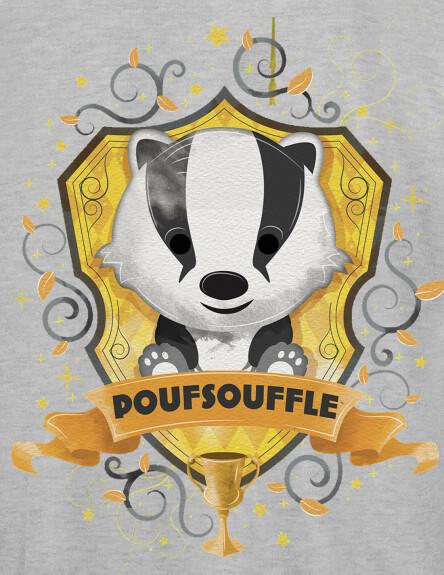 Sweat-shirt Enfant Chibi Poufsouffle
