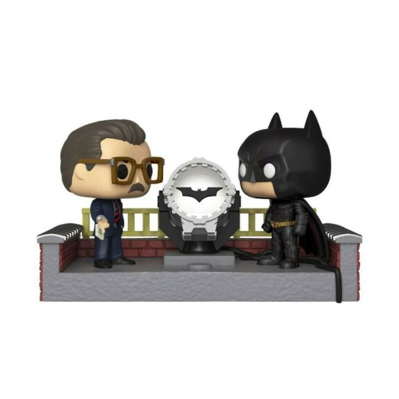 Batman et le Bat Signal Batman 80th Anniversary Funko POP 9cm