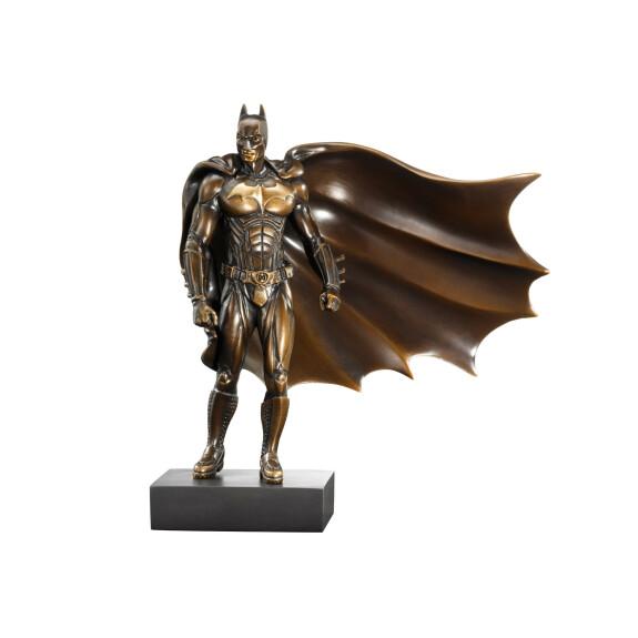 Statue en bronze de Batman tirée de Batman Begins