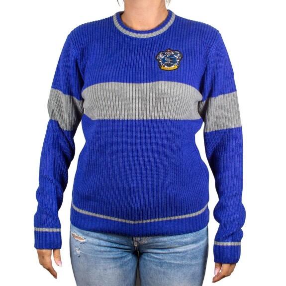 Pullover Femme Serdaigle bleu et gris