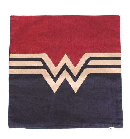 Housse de Coussin Wonder Woman Logo Gold