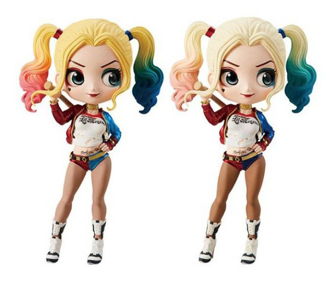 Harley Quinn figurine film Suicide Squad Banpresto Q Posket