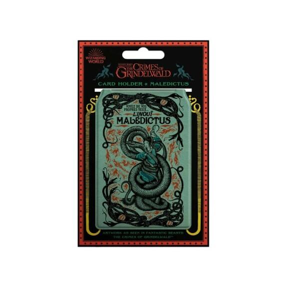 Porte-cartes affiche Maledictus du Cirque Arcanus MinaLima