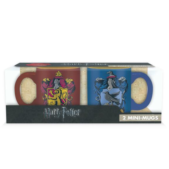 Set 2 mini-mugs Gryffondor et Serdaigle