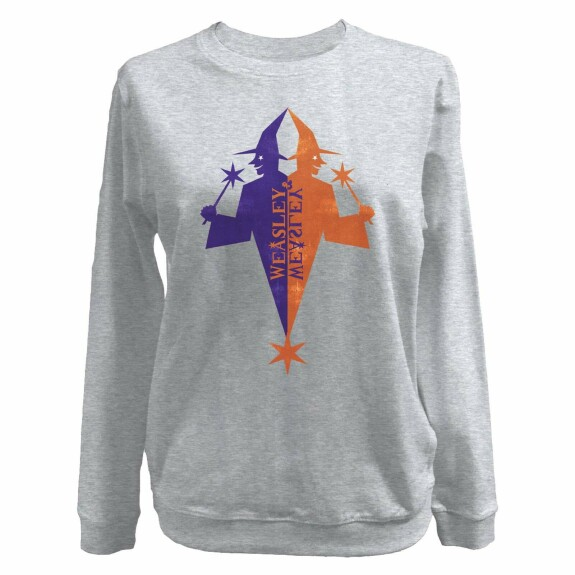 Sweat Femme Weasley Store gris chiné