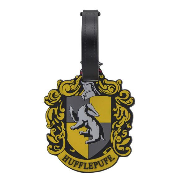 Porte étiquette pour bagage - Logo Maison Poufsouffle