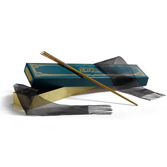 Baguette magique de Norbert Dragonneau avec boîte Ollivander