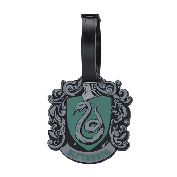 Porte étiquette pour bagage  -  Logo Maison Serpentard