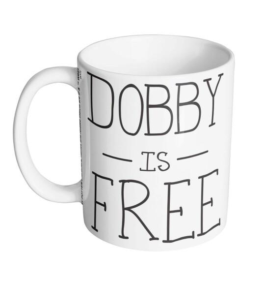 Mug Dobby Is Free Blanc