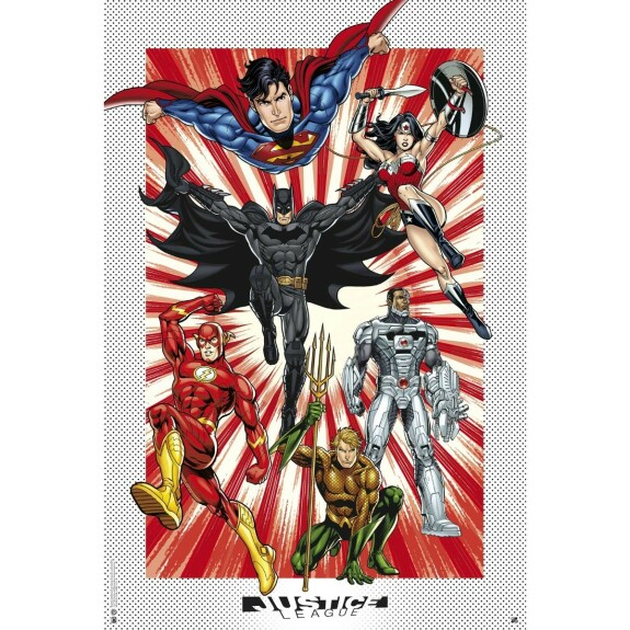 Poster Justice League