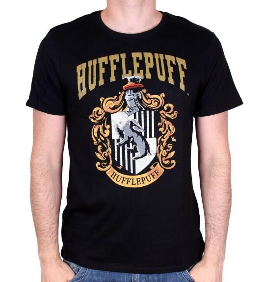 T-shirt Poufsouffle noir