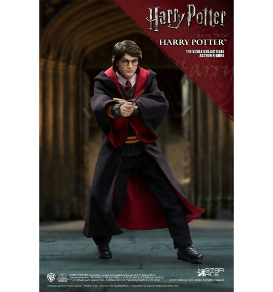 Figurine Harry Potter dans Harry Potter et la chambre des secrets Real Master Series 1/8 23 cm Star Ace