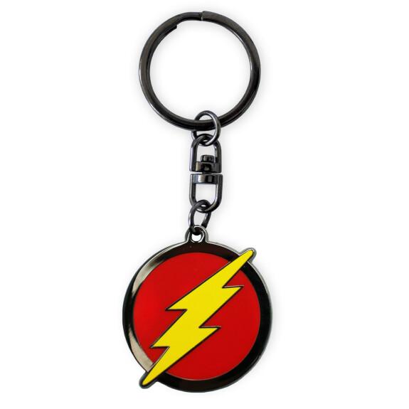Porte clés métal Logo Flash