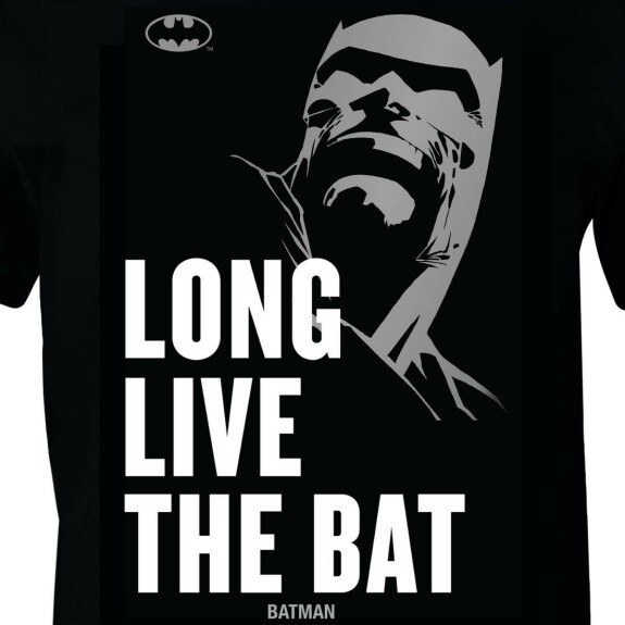 T-shirt Batman 80 ans Long Live The Bat