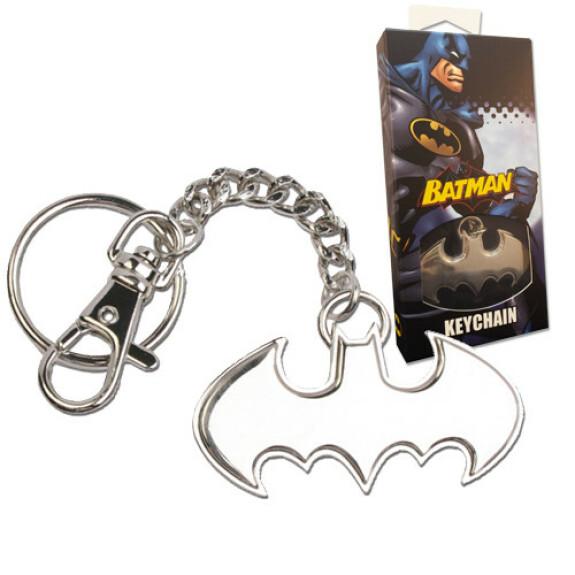 Porte clés logo Batman acier