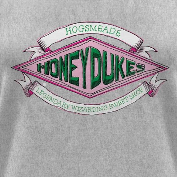 T-shirt Femme Honeydukes Hogsmeade gris chiné