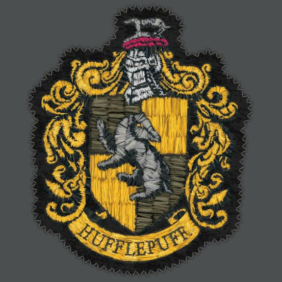 Sweatshirt Poufsouffle Emblème gris foncé