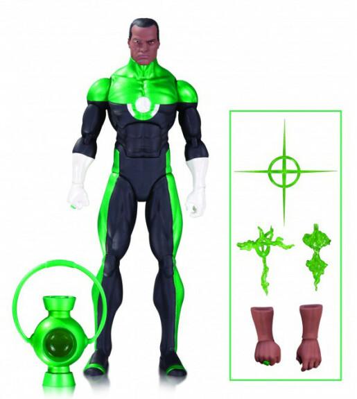 Green Lantern John stewart figurine DC Collectibles Icons